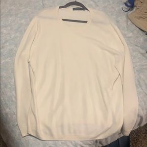 White polo sweater sz XL in excellent shape